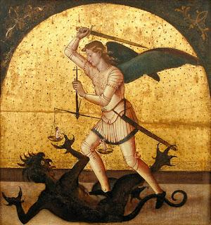 Halloween no good St-michel-contre-le-demon