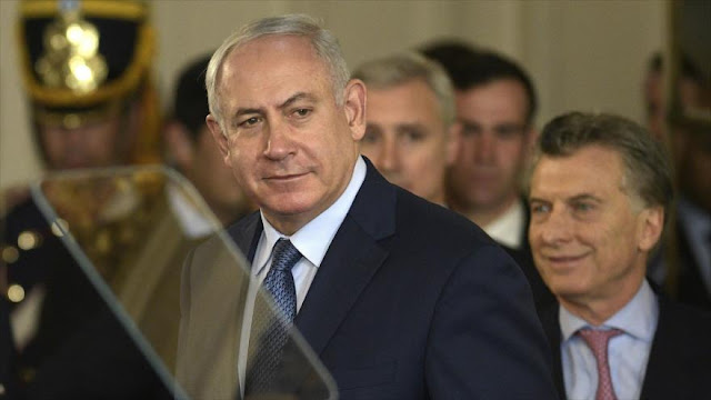 Netanyahu visitó Argentina para vender armas a Macri