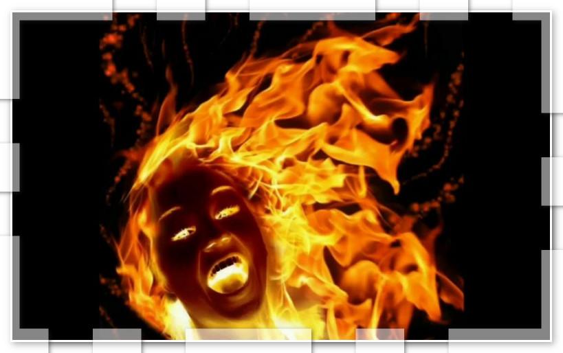 ومن الغيرة ما قتل…سيدة تحرق نفسها بعد ارتباط زوجها بأخرى