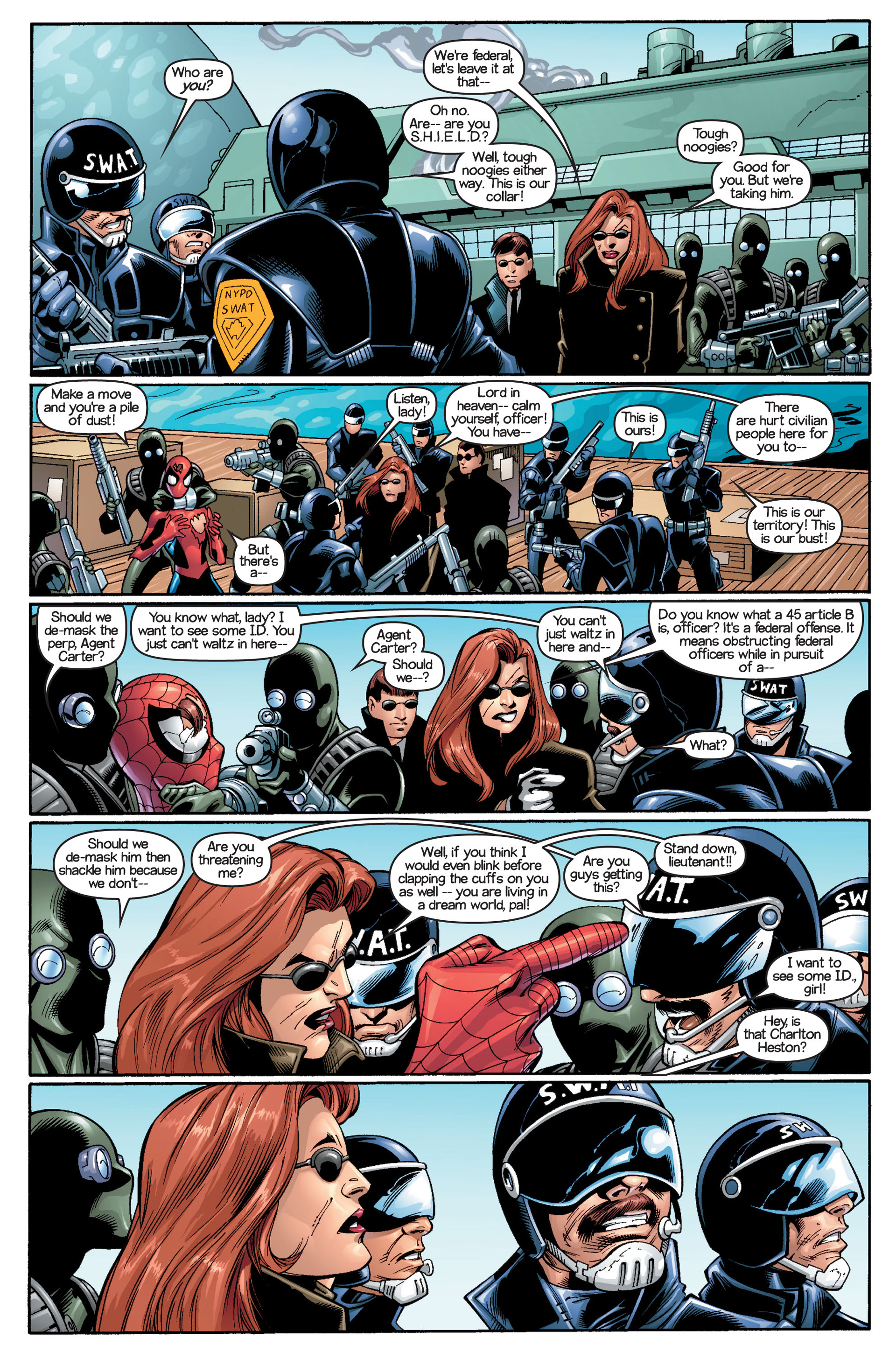 Read online Ultimate Spider-Man (2000) comic -  Issue #18 - 10