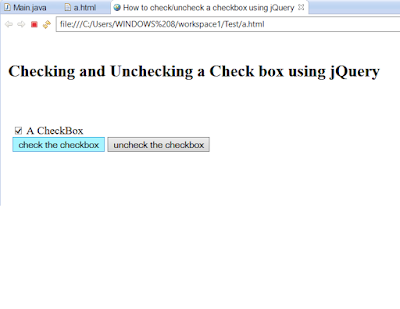 How to select a checkbox in jQuery