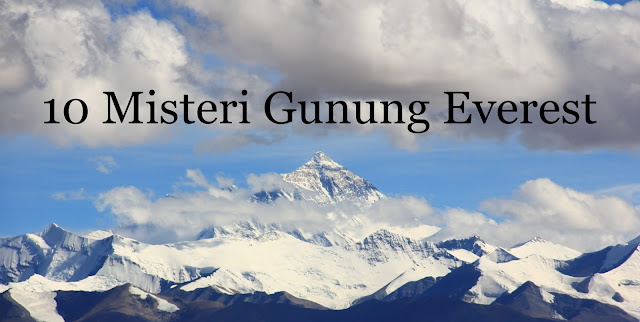 misteri gunung everest