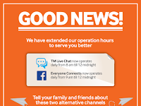 New Operating Hours For Everyone Connects & TM Live Chat