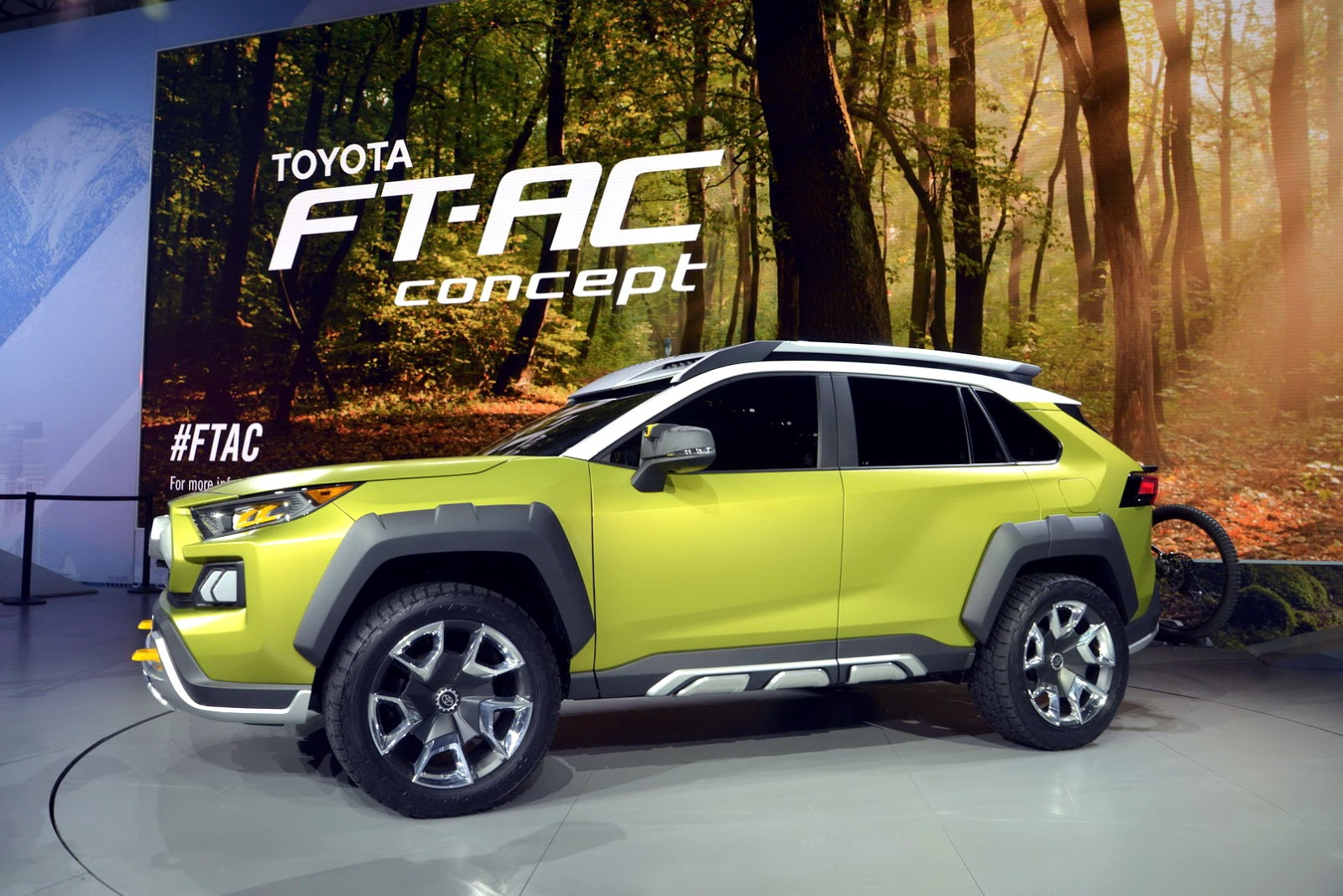 New Toyota FT-AC Concept Is A Macho Compact SUV For ...