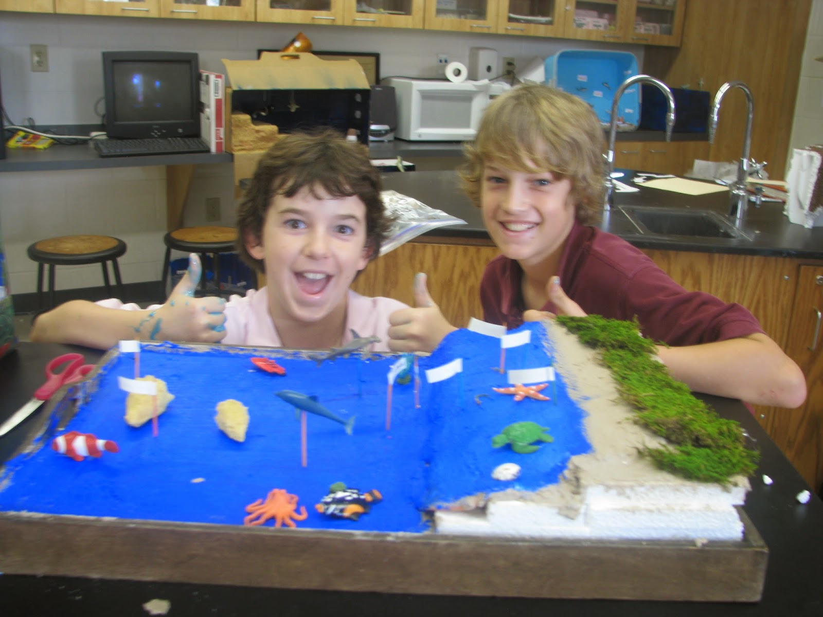 Building The Ocean Floor Project
