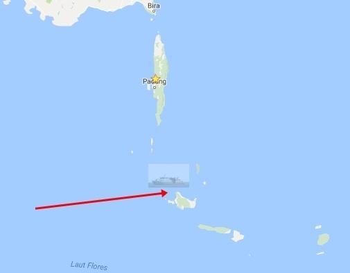 KM.Sabuk Nusantara ,Kandas Lagi, Di Perairan Pulau Jampea ,Selayar