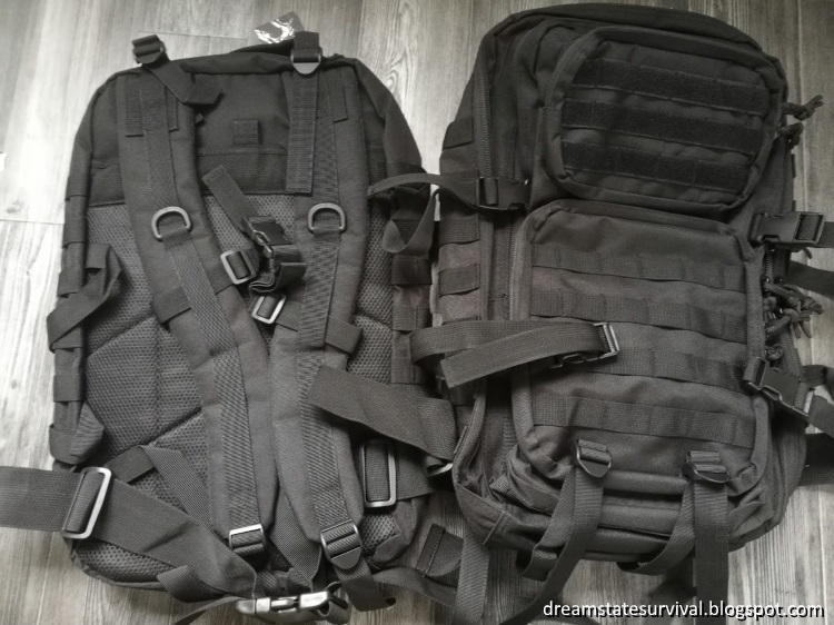 REEBOW Military Tactical Backpack Large Army 3 Day Assault Pack Molle