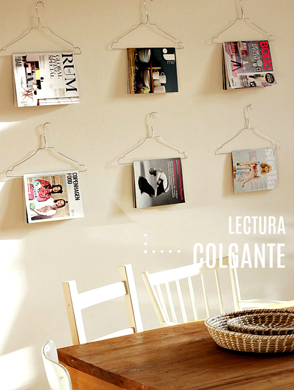 Idea deco lectura | DIY
