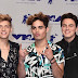 Jon Klaas, Emery Kelly e Ricky Garcia da Forever in Your Mind marcam presença no MTV Video Music Awards 2017 no The Forum em Inglewood, Califórnia - 27/08/2017
