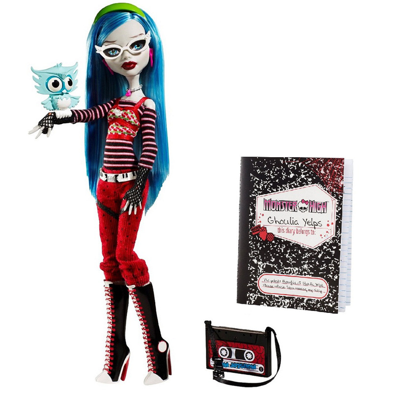 mh ghoulia yelps dolls mh merch