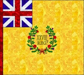 28th Regiment of Foot (Philip Bragg) Regimental Colour