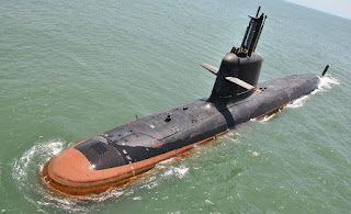 Spotlight : 1st made in India Scorpene-class submarine delivered to Navy