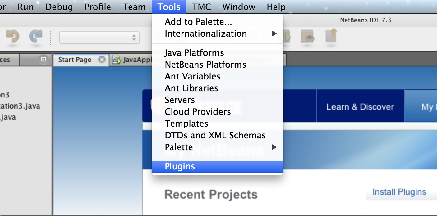 The deadnode netbeans installing tmc plugin installing tmc plugin to exsisting netbeans installation do this in paja baditri Image collections