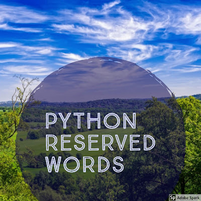 Python reserved words