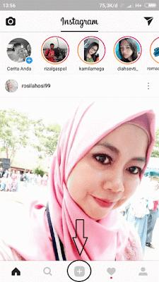 ini lah langkah pertama untuk upload foto sekaligus di instagram