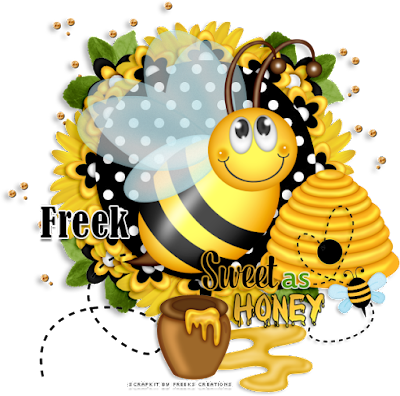 CT Tags for Freeks Creations - Sweet Bee