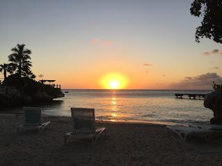 auringonlasku, sundown, paratiisi, ranta, hiekkaranta, paratiisisaari