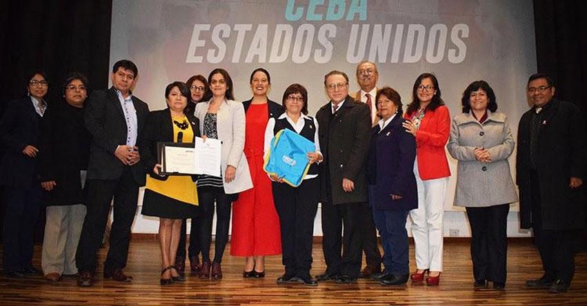 DRELM: Cuatro instituciones educativas son premiadas por innovar en educación - www.drelm.gob.pe