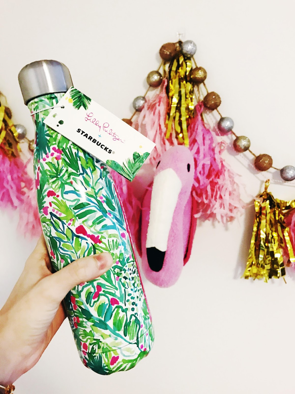 Sew Cute Lilly Starbucks Water Bottles Are Here