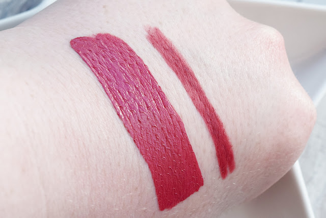 Barry M Matte Me Up Lip Kit in Runway swatch