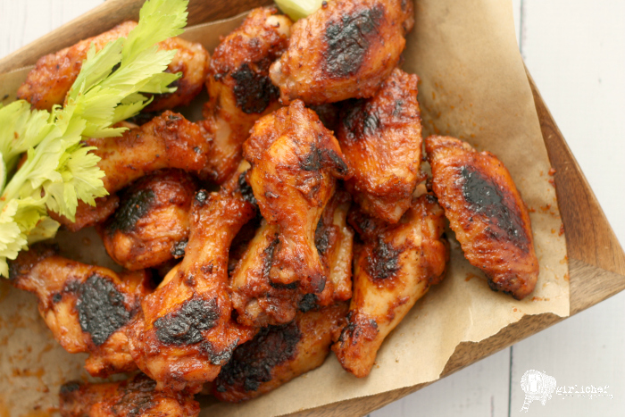 Bloody Mary Chicken Wings photo