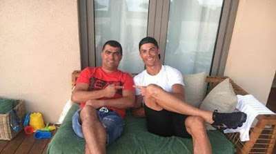 كريستيانو رونالدو وشقيق هوجو أفيرو