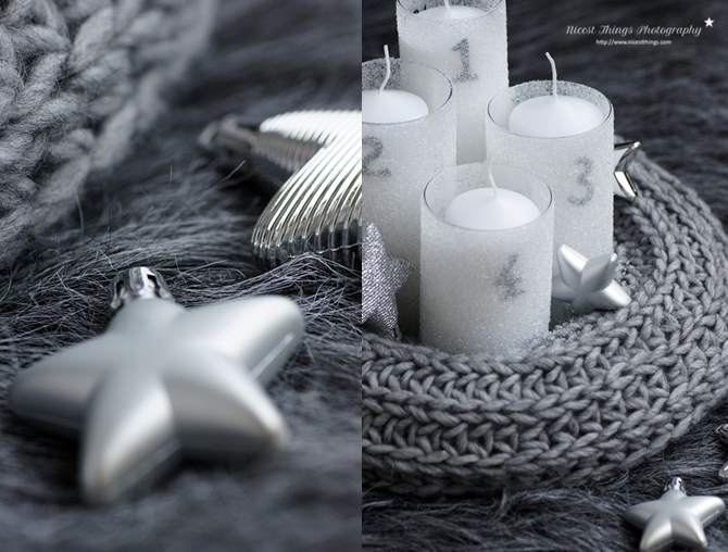 diy strick adventskranz selber machen aus einem alten. Black Bedroom Furniture Sets. Home Design Ideas