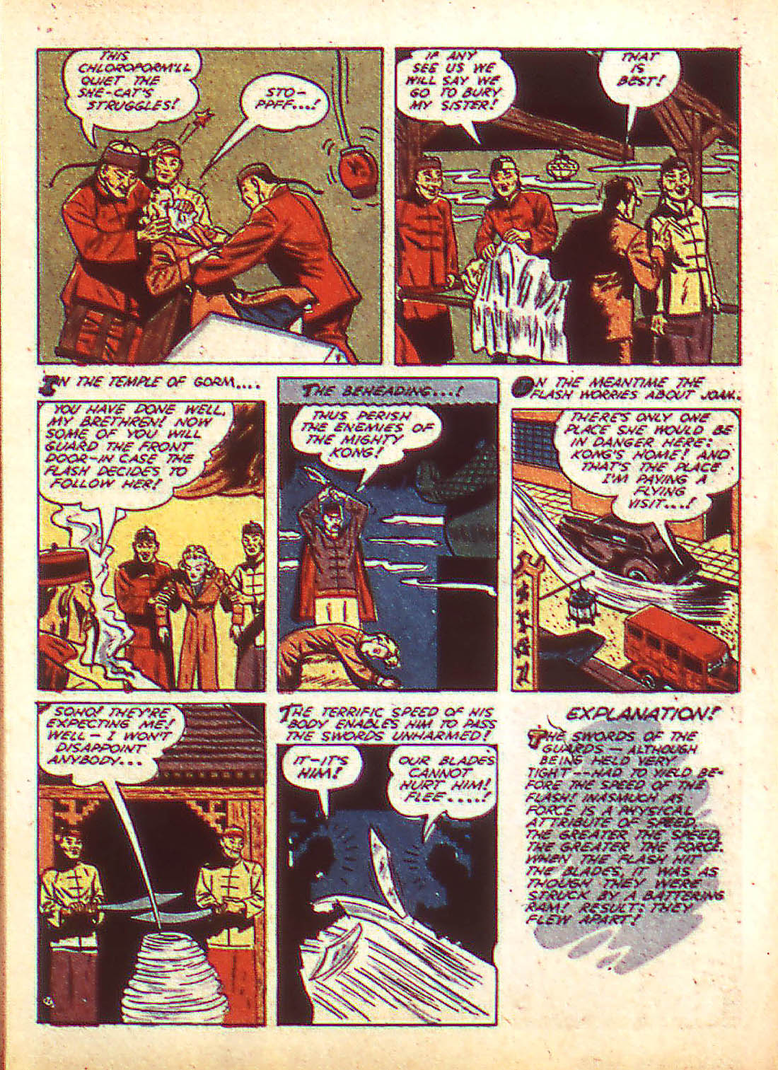 Flash Comics issue 22 - Page 13