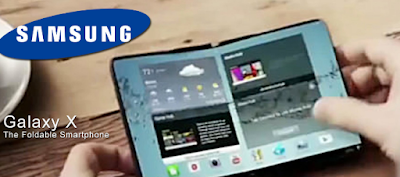 smartphone fold galaxy x