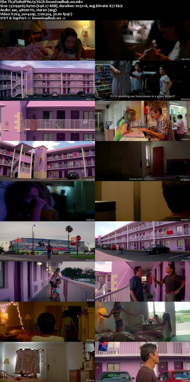 The Florida Project 2017 English 700MB DVDScr x264