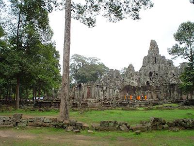 Monaci Templi di Angkor - Cambogia