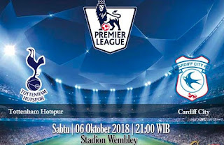 Prediksi Tottenham Hotspur vs Cardiff City 6 Oktober 2018