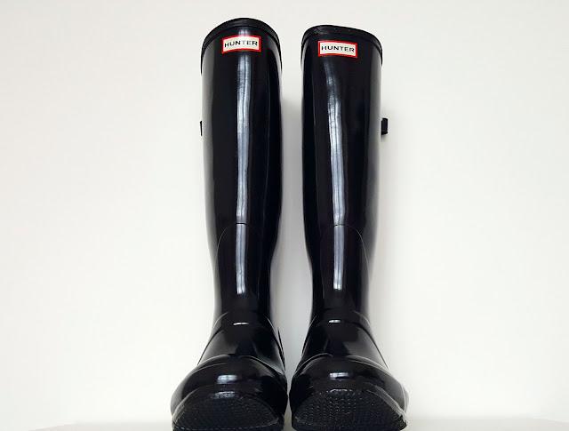 Kalosze, Gumowce, Buty, Hunter, Guma, Henry Lee Norris, North British Rubber Company, Moda / Fashion, The Original Boot, The Original Green Wellington, Biały nalot