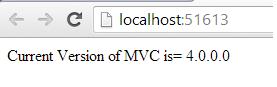 Get MVC Version