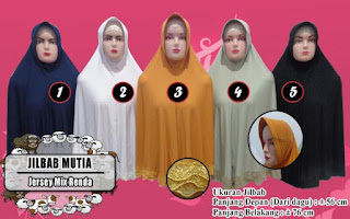 Jilbab lipit renda modelnya cantik,sederhana namun modis