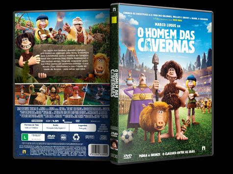Capa DVD O Homem das Cavernas