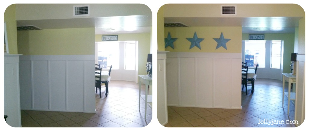 Quick Wall Decor With Tin Stars An Easy Diy Project