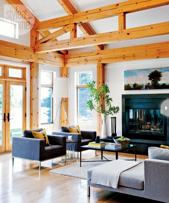 Modern Farmhouse Interior Design: Mix And Chic: Home Tour- A Stylish And Spectacular Modern