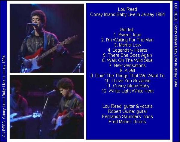 Coney Island Baby Excellents Lyrics
