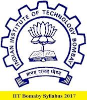 IIT Bombay Syllabus