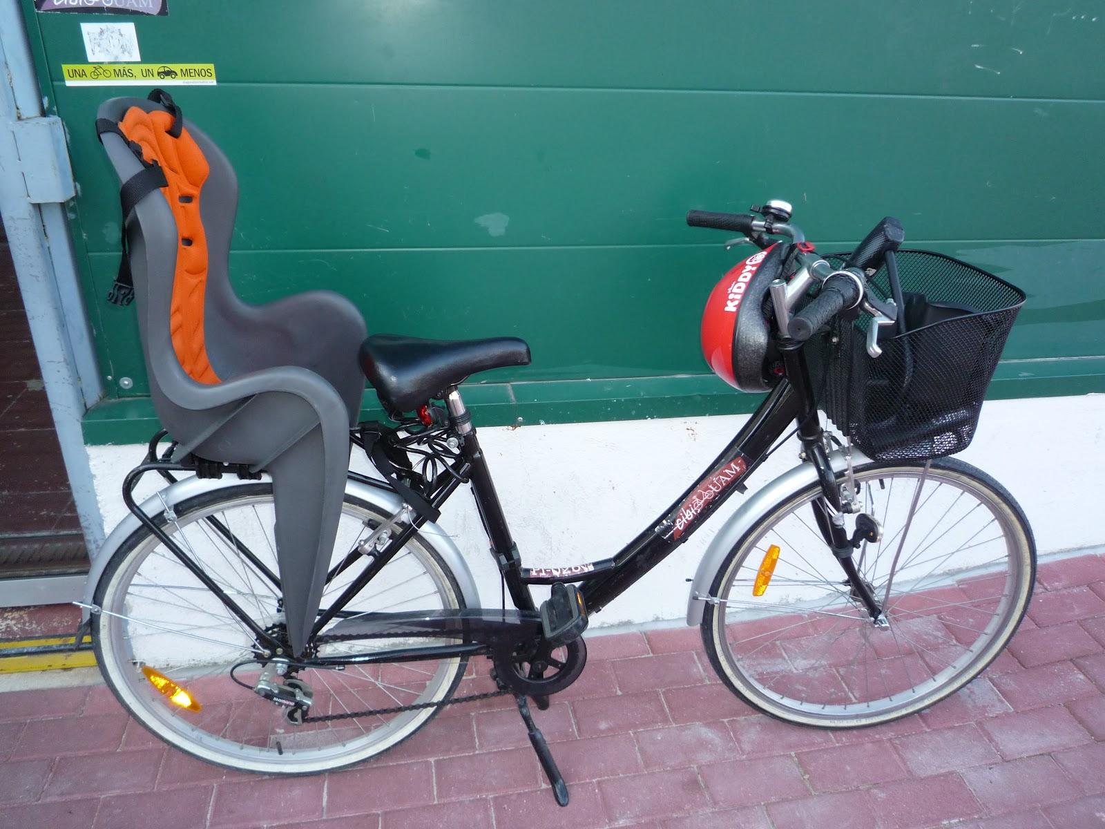 CibiUAM Bicicletas de prstamo con silla para nios y nias