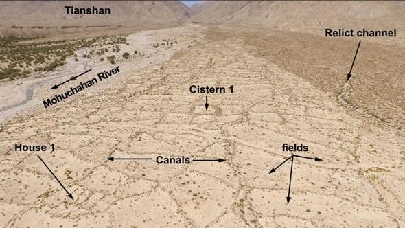 Drone et imagerie satellite révèlent un ancien réseau d'irrigation en Chine
