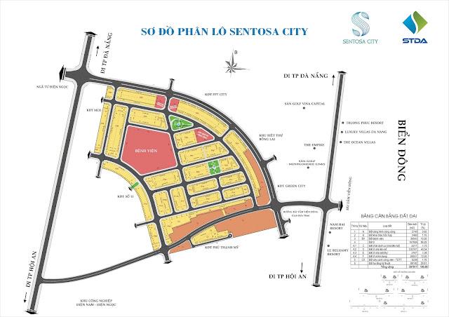 $$$ DỰ ÁN ĐẤT NỀN VEN BIỂN NAM ĐÀ NẴNG SENTOSA CITY