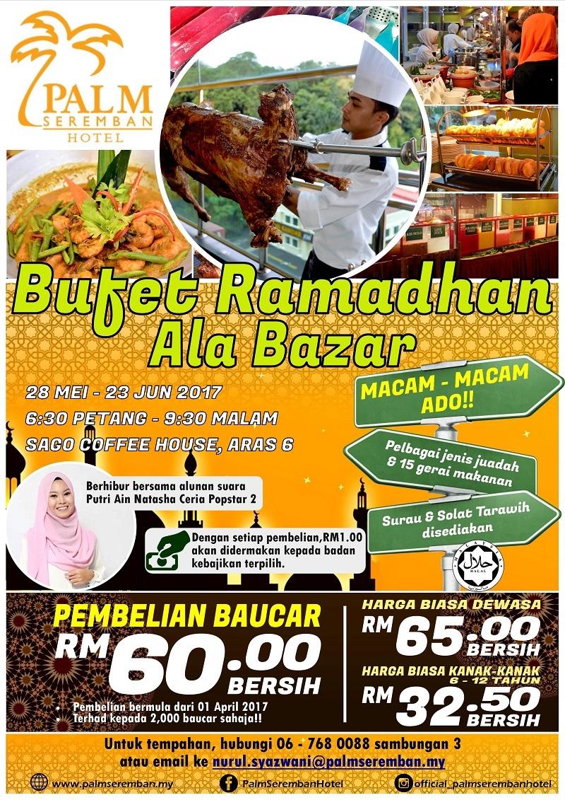 Buffet Ramadhan palm seremban hotel