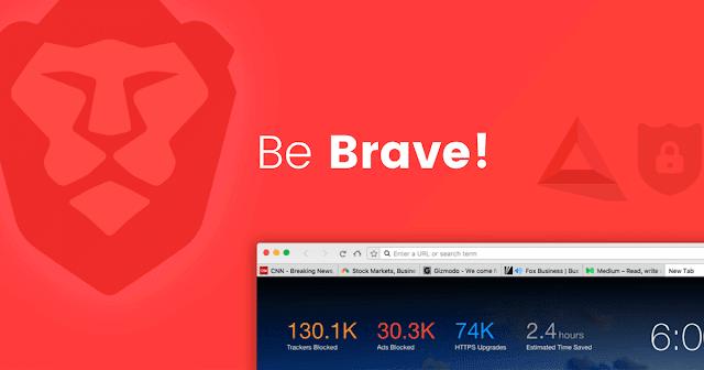 Brave Browser - Browser Tercepat Ringan dan Bebas Ikan