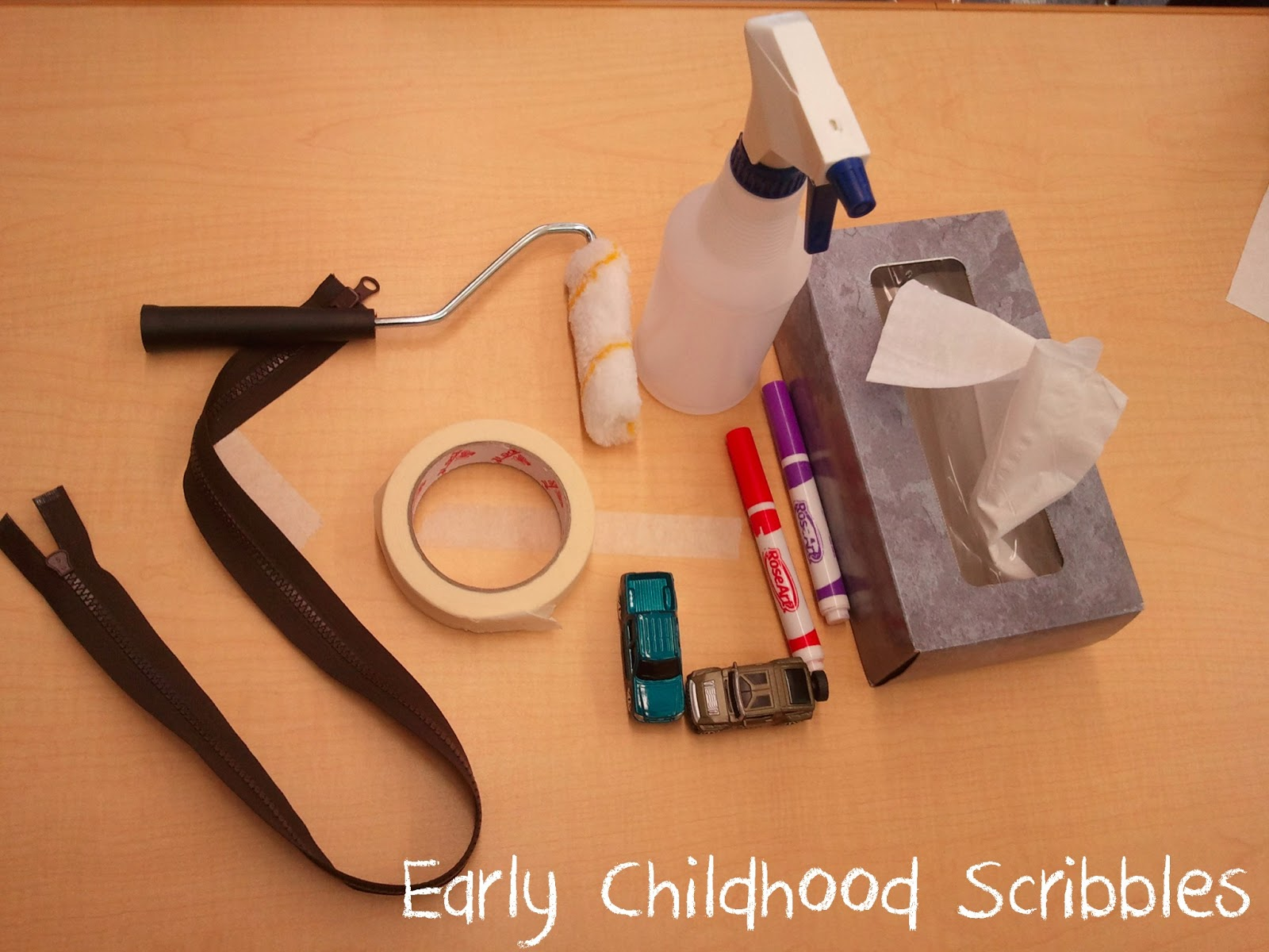 Early Childhood Scribbles Exploring Machines In Preschool