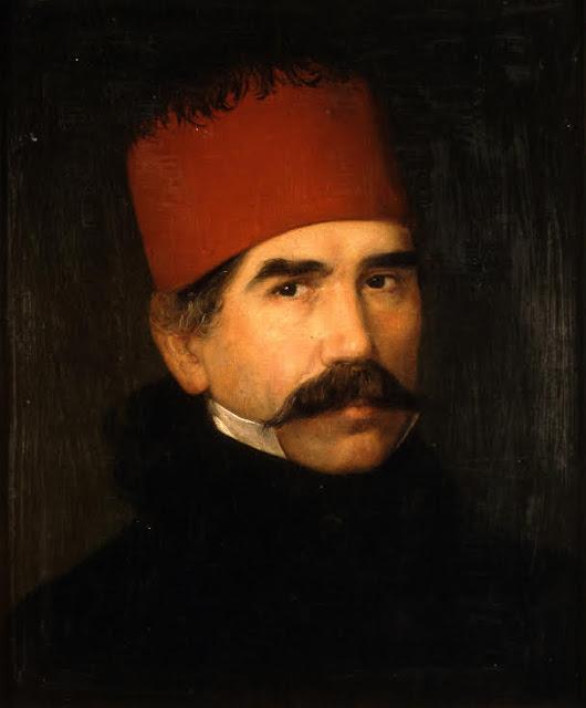 """Dimitrije Avramović """"Portret Vuka Karadžića"""""""