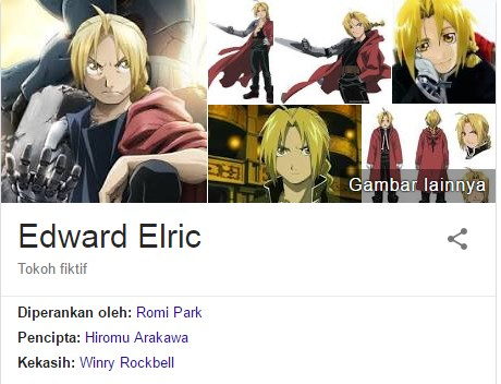 Edward Elric - Full Metal Alchemist