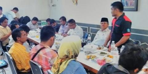 Diskusi dan Silaturahmi Dengan FWP DPRD Kota Padang, Ini yang Disampaikan Wawako Emzalmi Zaini