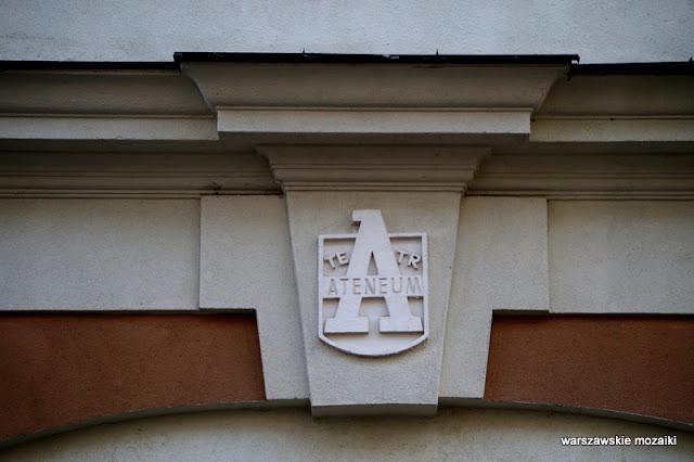 teatr Ateneum Warszawa Warsaw ulica Powiśle kamienica architektura zabudowa